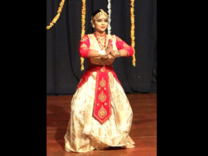 Krishnakshi performing Sattriya Dance in Mumbai