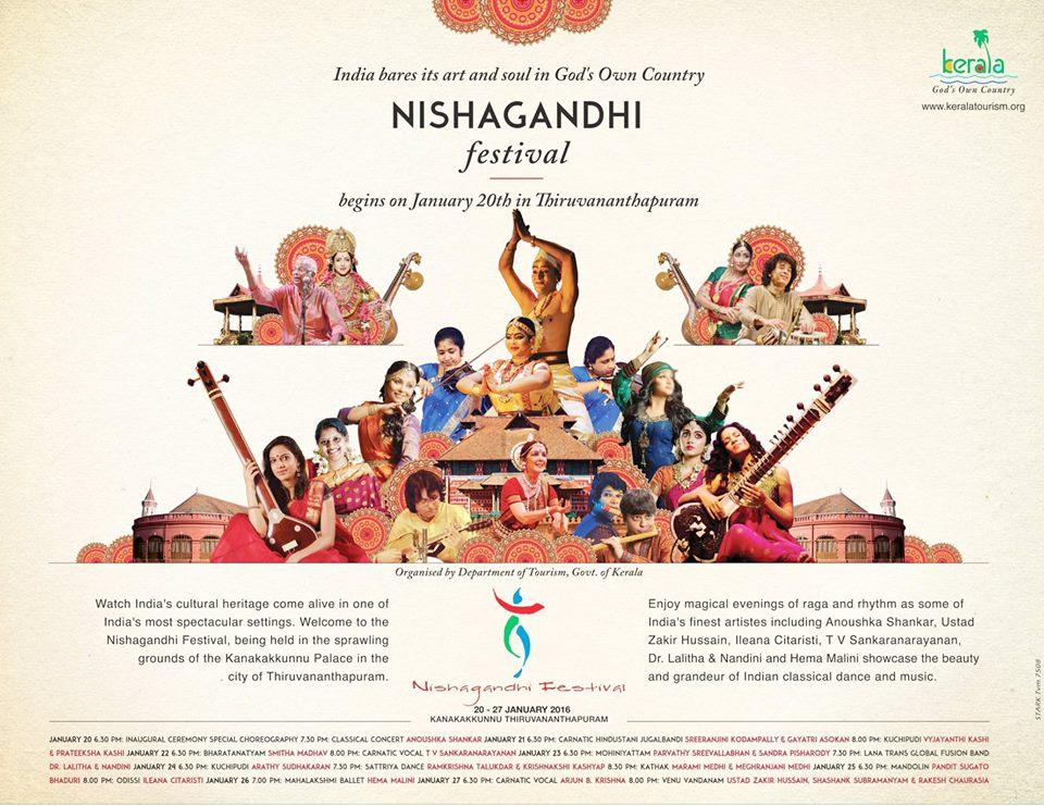 Nishagandhi Festival ,2016
