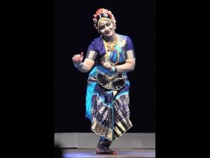 Bharatnatyam performance by Krishnakshi Kashyap
