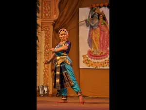 Bharatnatyam performance by Krishnakshi