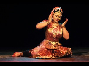Bharatntnatyam performance by Krishnakshi in Rabindra Bhawan on the occassion of World Dance Day