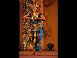 Krishnakshi performing Bharatnatyam in Guwahati