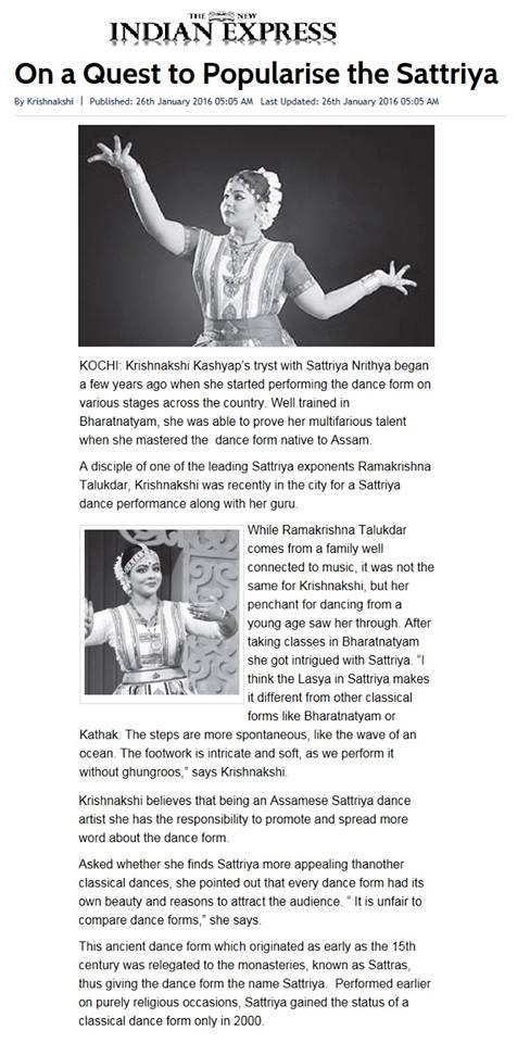 Krishnakshi's Interview